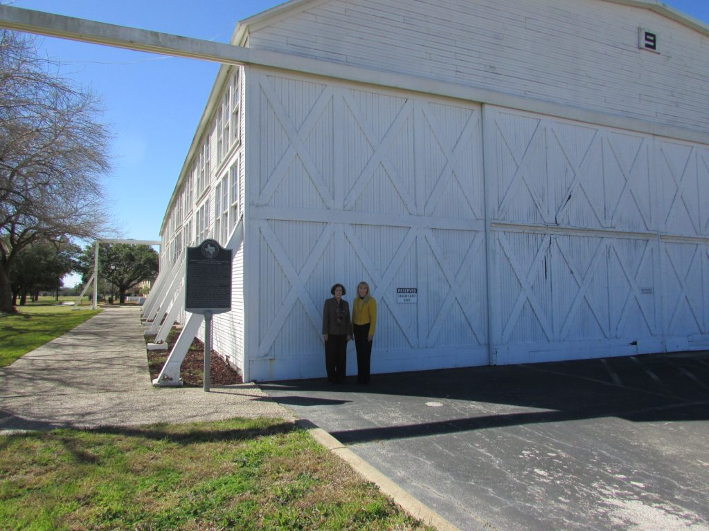Brooks Hangar 9 Historical Marker Photo
