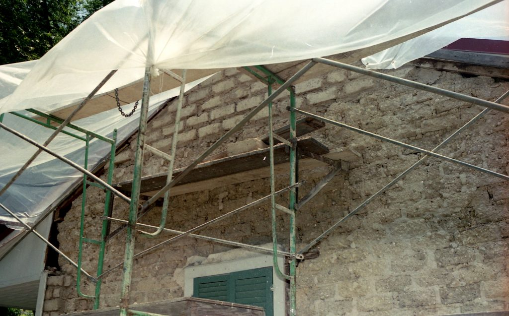 Photo of Yturri Edmunds Plaster Adobe Work 1992