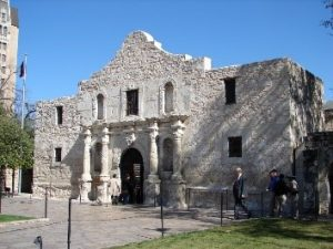 Front (west) facade of the Alamo