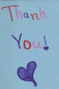 Thumbnail image of thank you card
