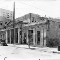 Old San Antonio Market House before it was demolished