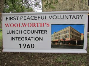 Coalition for the Woolworth Building banner:
