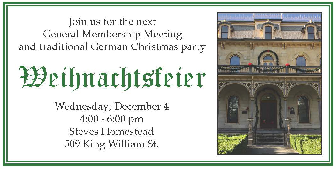 A German Christmas Party