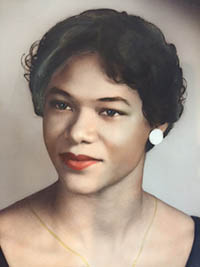Color Portrait of Mary Lillian Andrews