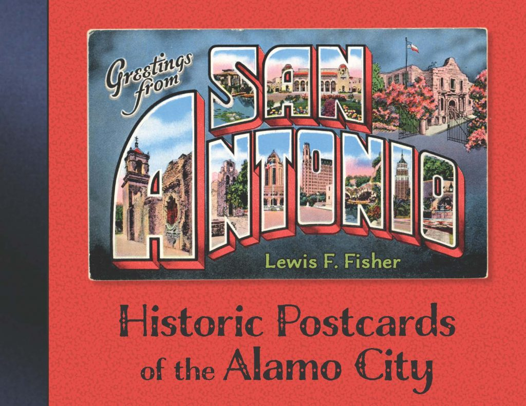 Cover of postcard book: Greetings from San Antonio