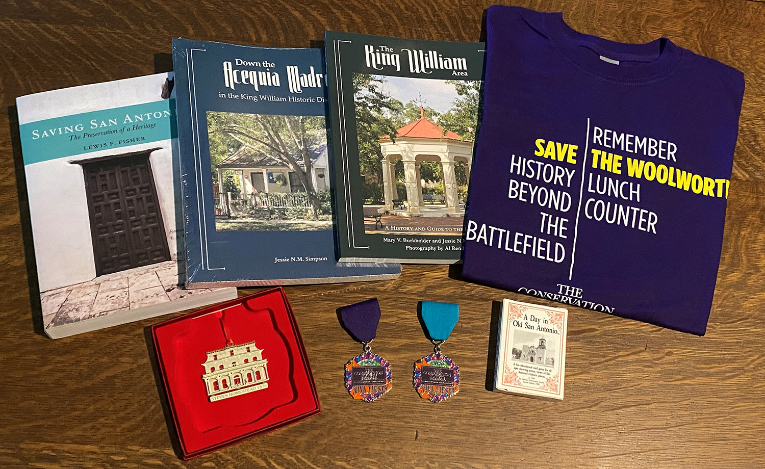 Books, Medals and More