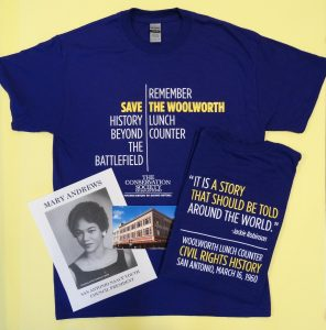 Purple Save the Woolworth T-shirt