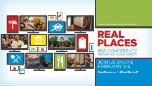 Real Places 2021 Conference banner