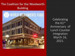 Woolworth Building with WMF logo